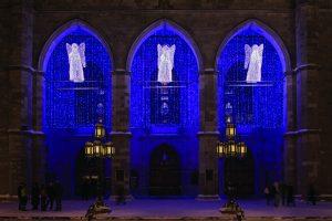 Basilique-Notre-Dame-Soir-Hiver