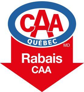 CAA-LogosFleche-Rabais logo 2015FR
