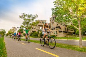 Visite guidée à vélo de Montréal