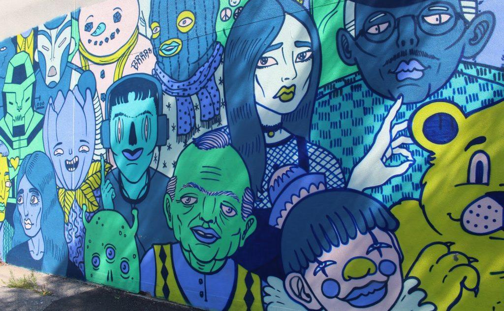 Murale de Mono Sourcil