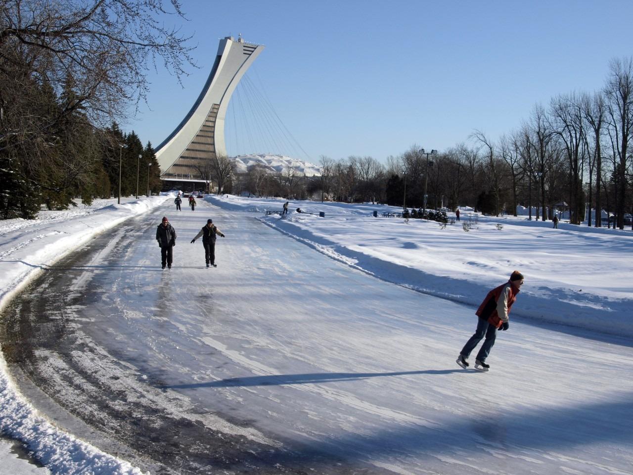 Patinoire Parc Maisonneuve Montréal