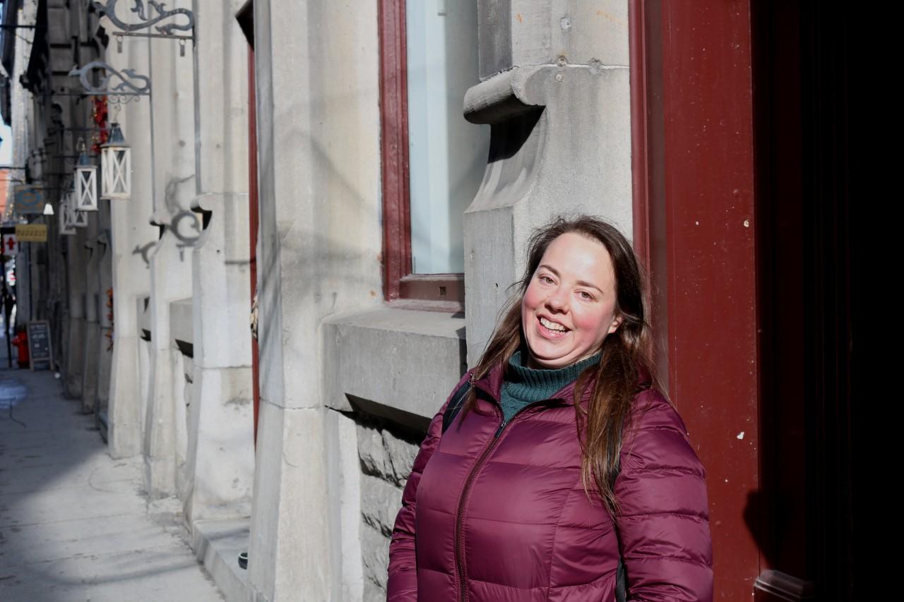 Elise Cayouette guide de Montréal Guidatour
