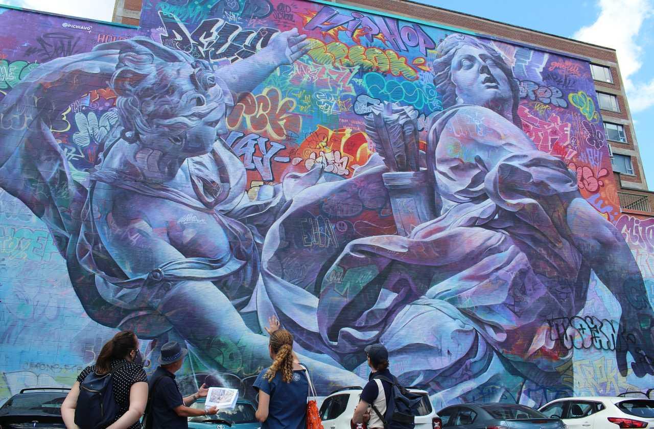 Visite des murales Guidatour blog passeports attraits